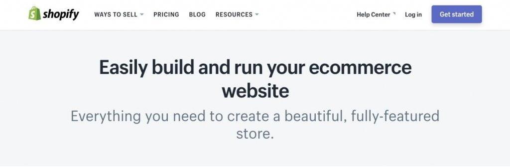 shopify verkkokaupan perustaminen